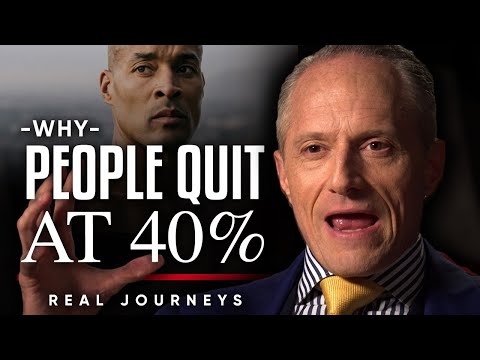 DAVID GOGGINS, DORIAN YATES & ROSS EDGLEY - WHY MOST PEOPLE QUIT AT 40% | LONDON REAL JOURNEYS