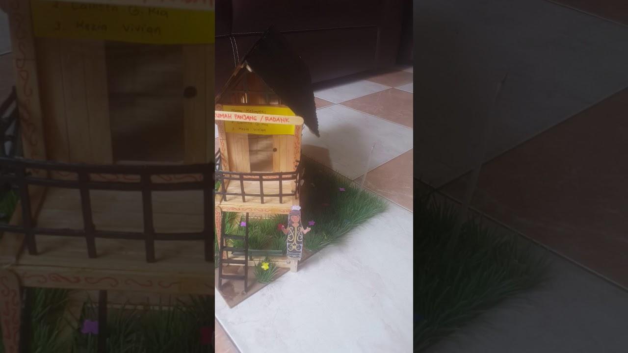 55 Gambar Rumah Adat Gadang Dari Stik Es Krim Gratis Terbaru