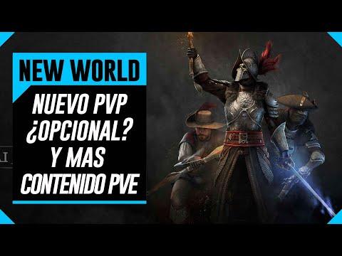 NEW WORLD - Ahora Con PvP Opcional Y Mas PvE - Nuevo MMO Amazon
