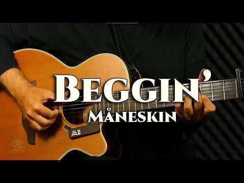 Måneskin – Beggin' – fingerstyle guitar cover