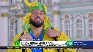 Baixar Brazilian fan goes viral for his fluent use of some special Russian words