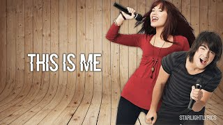 Camp Rock - This Is Me (Lyric Video) HD