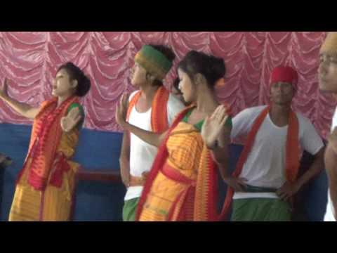 Bwisagu Dance at 1st BODO FRESHMANT SOCIAL BY ABSU AT Pathsala, 2014