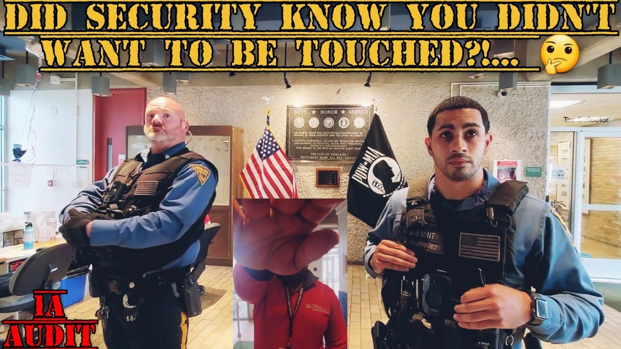 CITY SECURITY TRIES TO FORCIBLY TAKE CAMERA FROM JOURNALIST!  | 1ST AMENDEMENT AUDIT FAIL!
