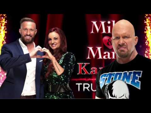 Stone Cold Steve Austin sings Mike & Maria Kanellis' theme song -