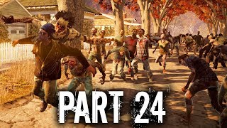 State of Decay 2 Gameplay Walkthrough Part 24 - ALMOST HAPPENED AGAIN & NEW CAMP MATE