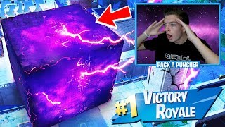 FORTNITE CUBE DESTROYED LOOT LAKE! LOOT LAKE CUBE EVENT LIVE FOOTAGE! (Fortnite Battle Royale)