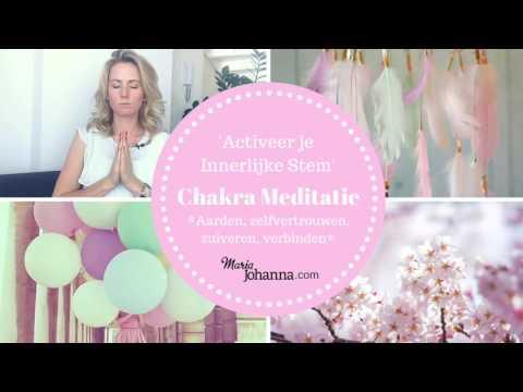 Chakra Meditatie (18 Min): Activeer Je Innerlijke Stem (zonder Muziek)