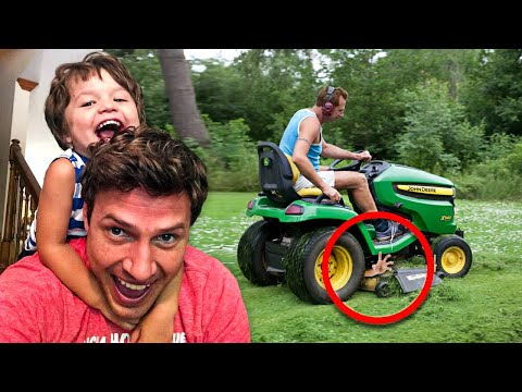 Lawnmower Accident Leaves Family In A Wreck – Mom Urgently Want's You To Know This...