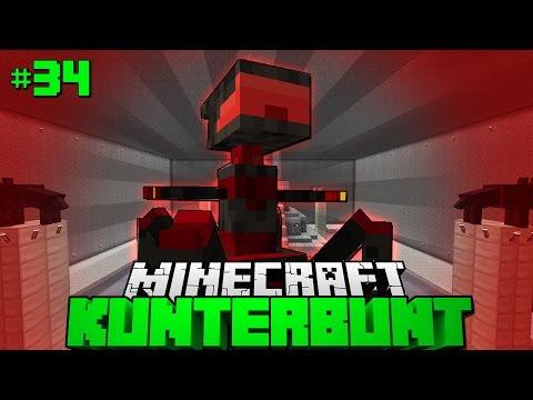 X-09 NO-TRON?! - Minecraft Kunterbunt #34 [Deutsch/HD]