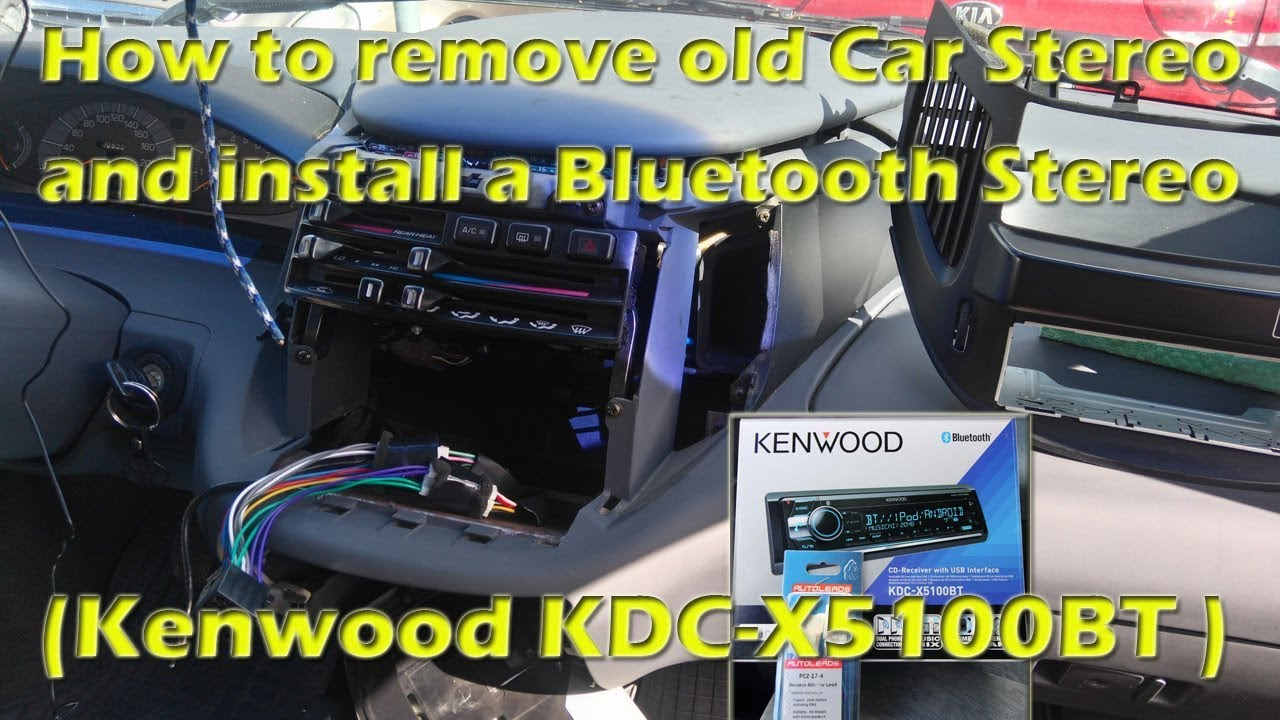 maxresdefault how to remove old car stereo and install a bluetooth stereo kenwood kdc mp242 wiring diagram at honlapkeszites.co