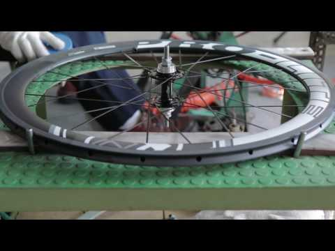 Birth of a Carbon Fiber Wheel 2016 (Pro-Lite Wheelbuilding in Taiwan)