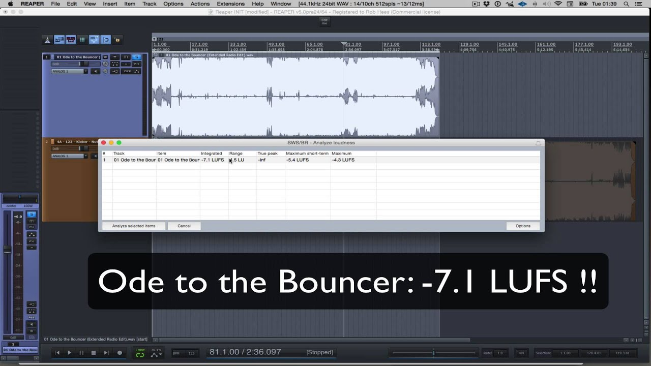 youlean loudness meter explained