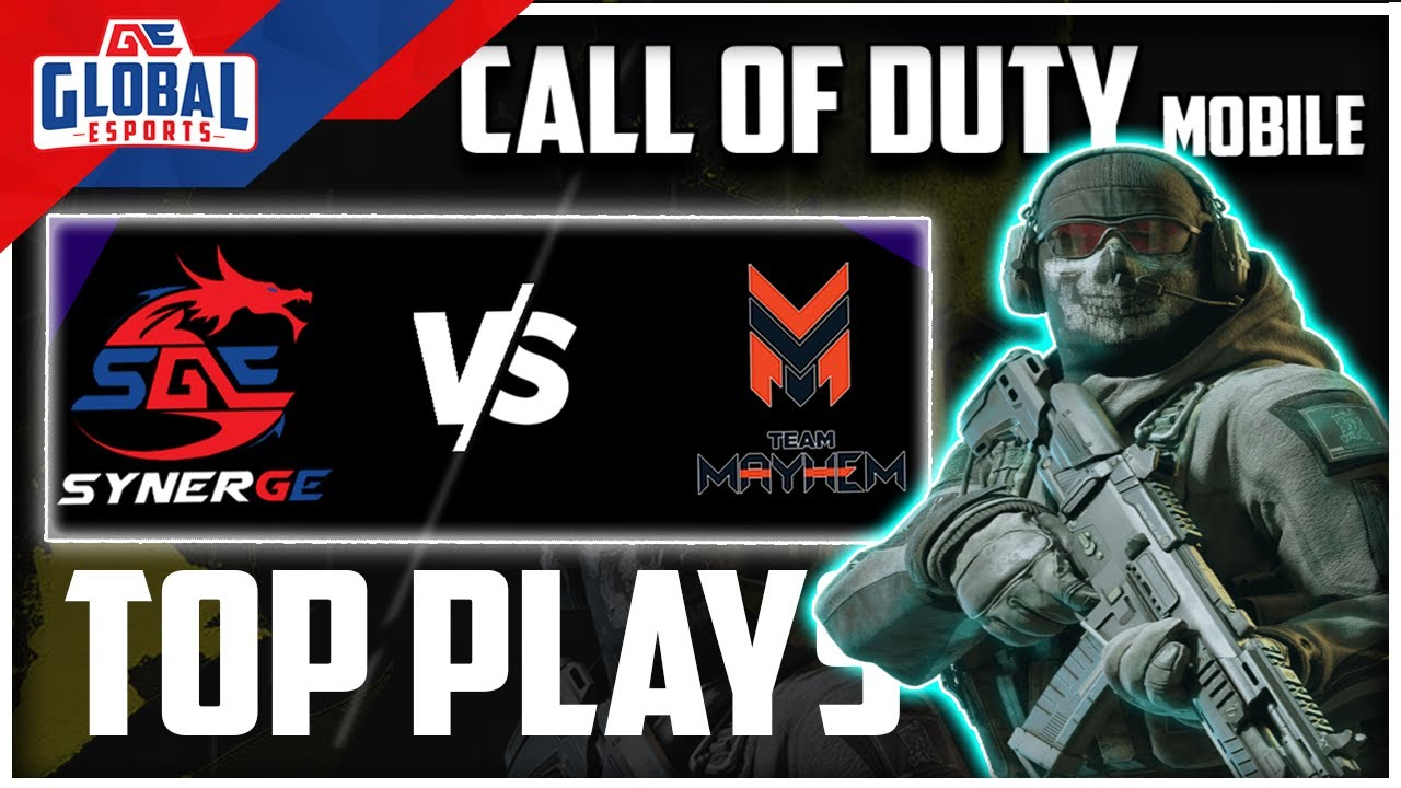 SynerGE vs Mayhem - Top Plays - Call Of Duty Mobile Gameplay