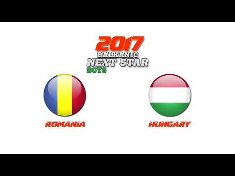 BALKANIC NEXT STAR 2017: Romania - Hungary
