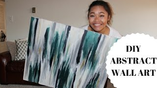 DIY | Abstract Wall Art