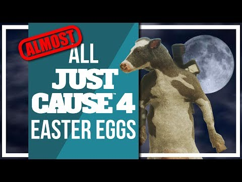 All Just Cause 4 Easter Eggs and Secrets