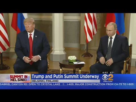 Trump, Putin Finish 2-Hour One-On-One Meeting