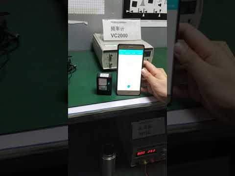 Long standby GPS tracker HB-A1 sleep mode test in Shielding room