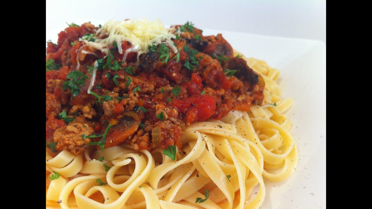 How To Make Spaghetti Bolognese Youtube