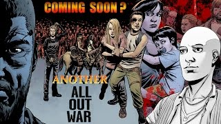 Another All Out War Walking Dead Comic - Alpha & the Whisperers