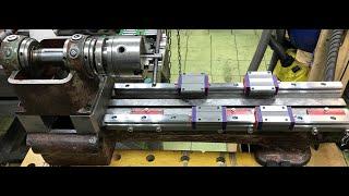 Токарный с ЧПУ. MN80. Механика