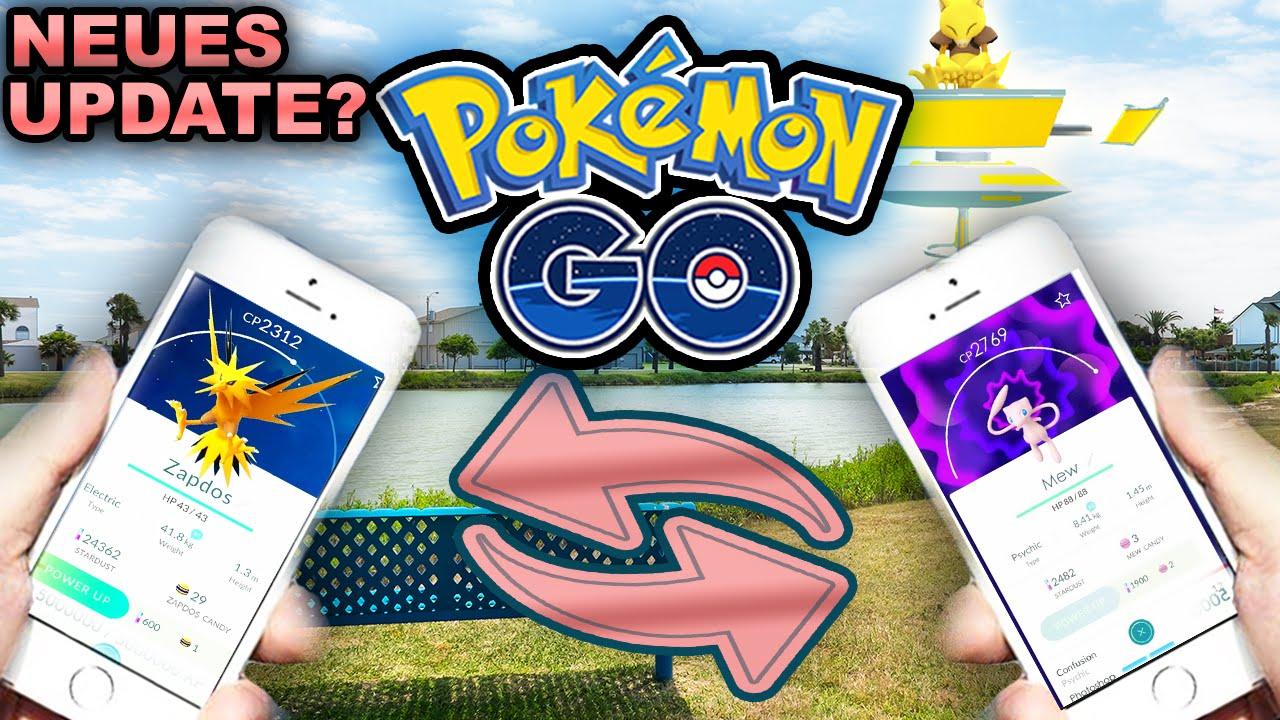 Pokemon Go Tauschen