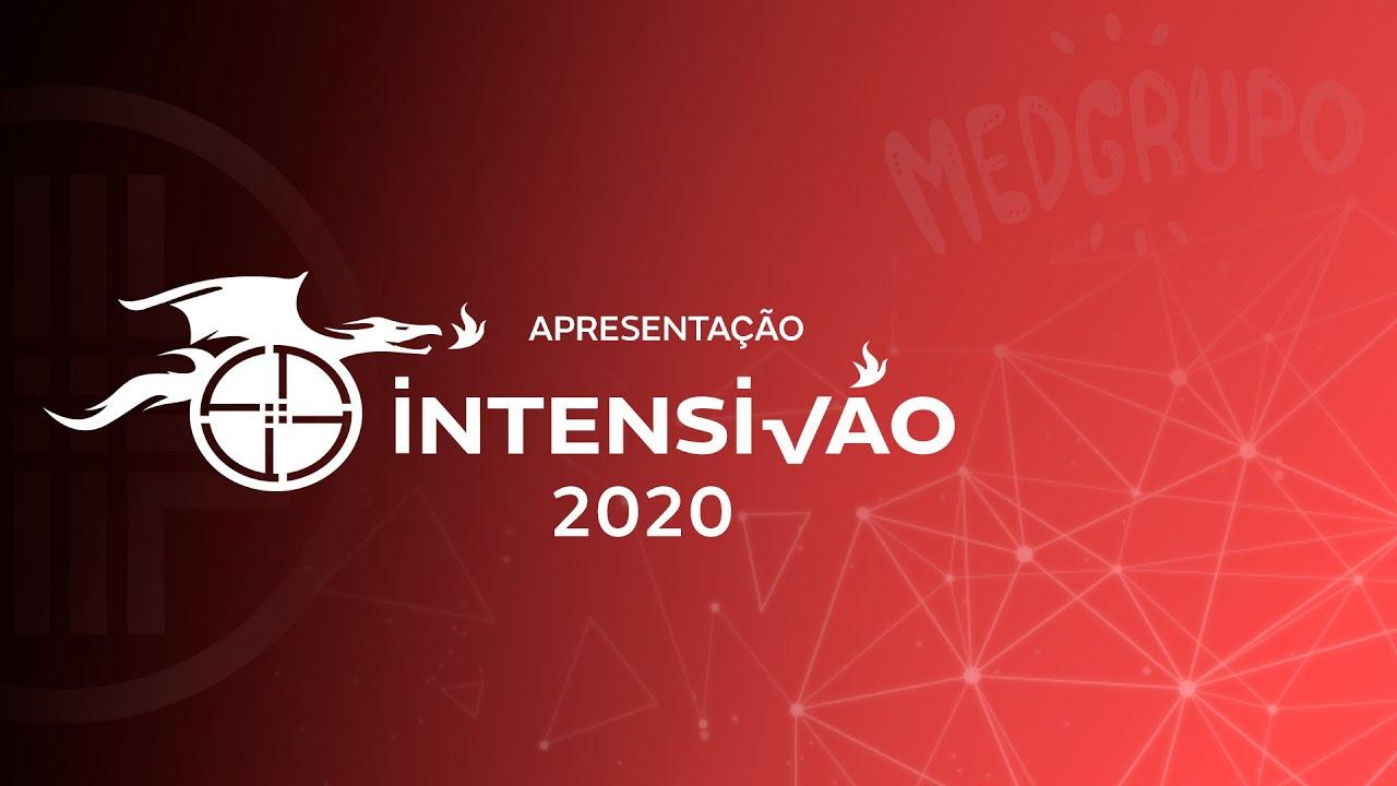 Apresentação do INTENSIVÃO 2020 ON-LINE