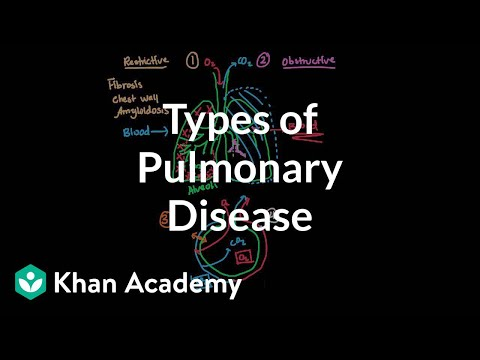 Types of pulmonary diseases | Respiratory system diseases | NCLEX-RN | Khan Academy