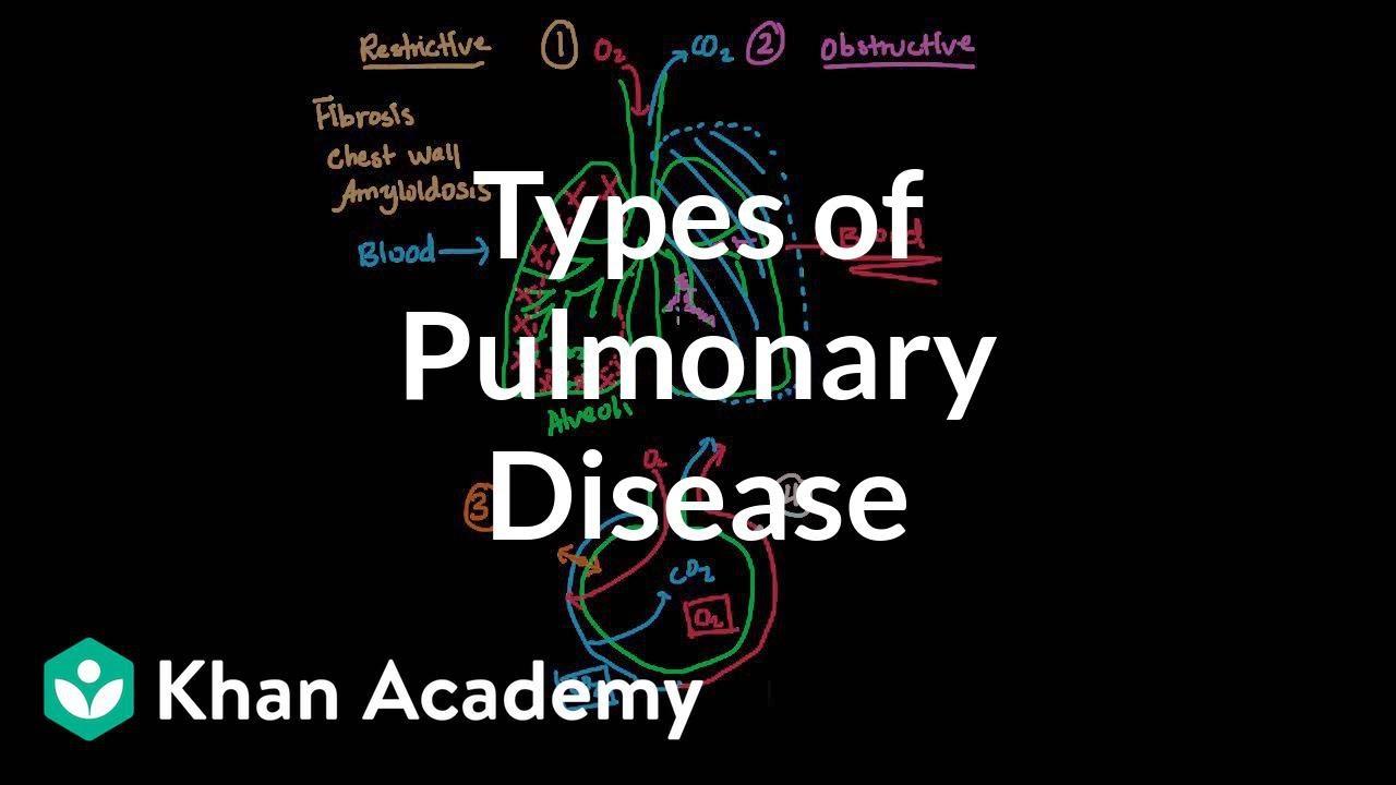 Types of pulmonary diseases (video) | Khan Academy