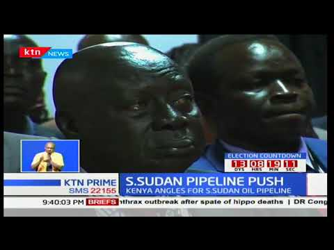 South Sudan aims to construct an oil pipeline to serve East Africa