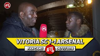 Vitoria SC 1-1 Arsenal | The Sooner Emery Goes The Better!
