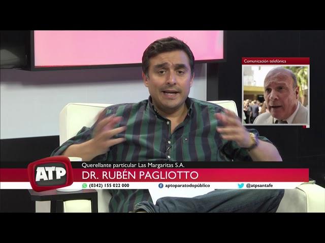 Dr. Rubén Pagliotto - Querellante particular Las Margaritas S.A - ATP 23 10 20