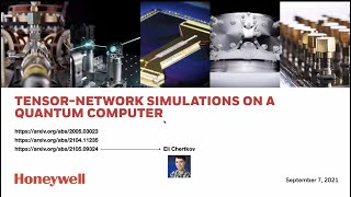 Simulating many-body physics using quantum tensor networks, presented by Michael Foss-Feig