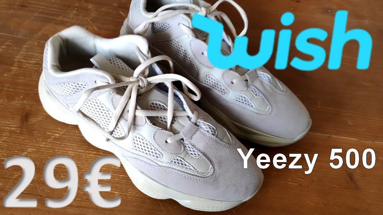 8e155c75d39 FAKE YEEZY 500 from WISH