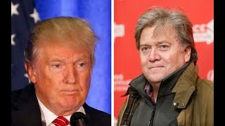 Trump Vs Bannon | Steve Bannon OUT At The White House