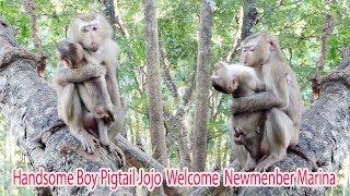 Thanks You Handsome Boy Jojo Hug New Member Marina So Sweet / How Teenager Welcome Marina ? PTM 1138