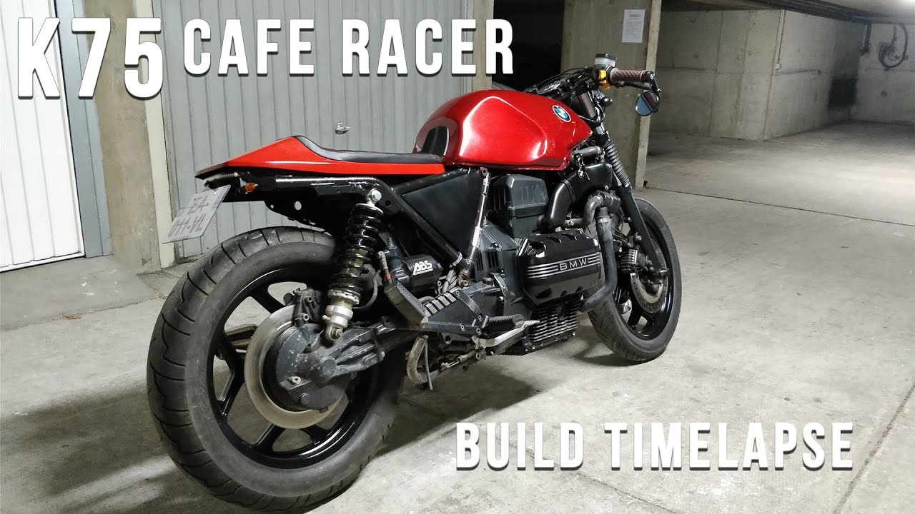 Bmw K75 Cafe Racer Full Timelapse Build Youtube