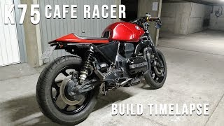 BMW K75 Cafe racer - Full Timelapse Build
