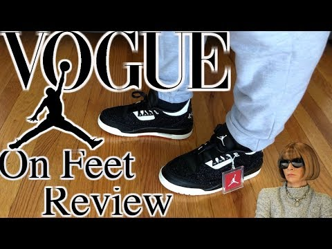 19277bf4989fee Vogue Jordan 3 Detailed On Feet Review - YouTube