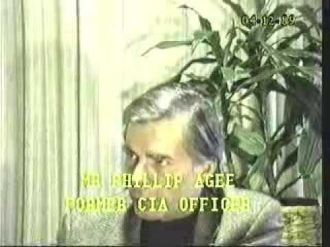 Dr. Joseph Murphy (1st )  & Phillip Agee - 04-12-89 Original air date