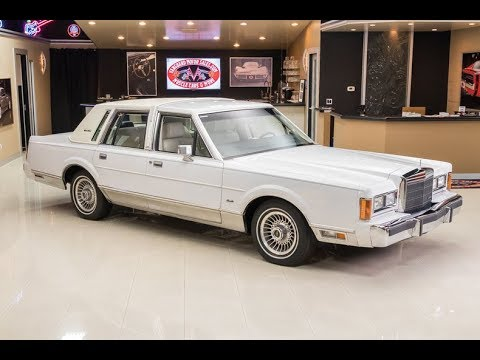 1989 Lincoln Towncar For Sale Youtube