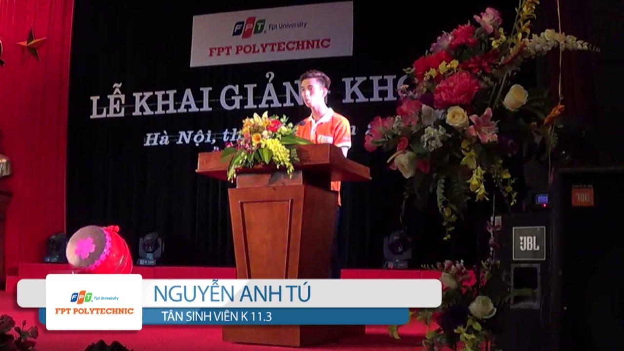 Lễ Khai giảng K11.3 – Cao đẳng thực hành FPT Polytechnic Hà Nội