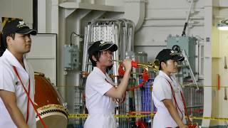 呉海自カレーフェスタ2017 海上自衛隊 護衛艦かが ラッパ吹奏
