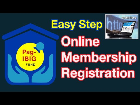 How To Apply Pag IBIG Number Online Registration