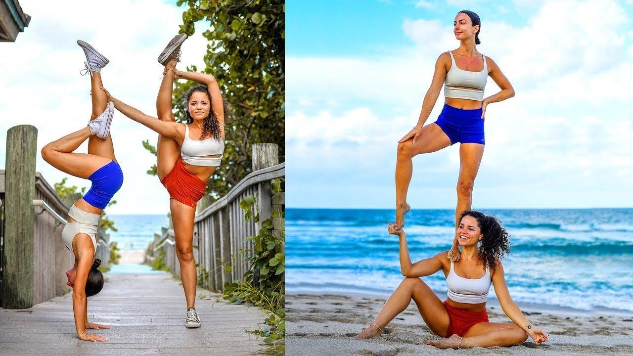 Amazing Flexibility Stretches, YOGA Girl, Gymnastics,Girl