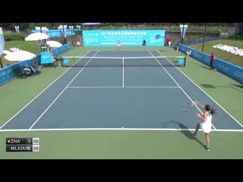 Zhang Yuxuan v Dunne Katy - 2017 ITF Shenzhen