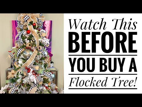 Decorate My Christmas Tree With Me 2019 How To Decorate With Ribbon Buffalo Check Theme Youtube