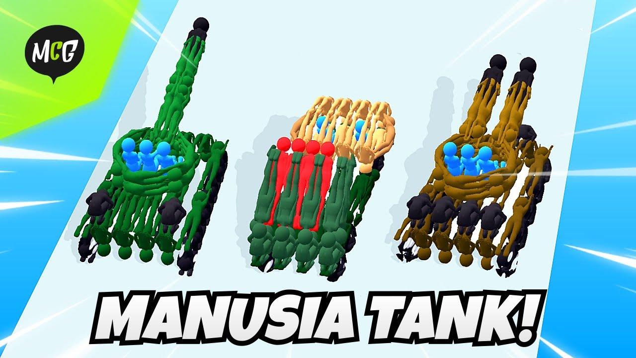 Download Tank Dari Manusia Stickman! - Human Vehicle