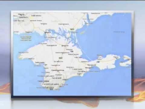 Гугл карта россия крым